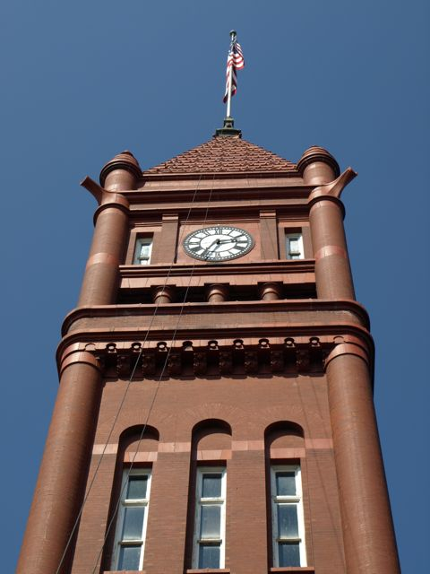 view of clocktower